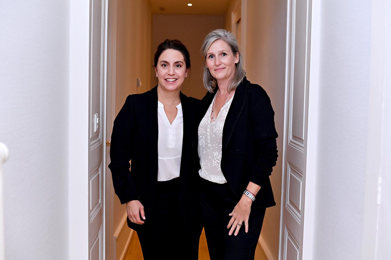 Catherine Hohl-Chirazi et Karin Grobet Thorens